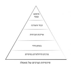 פרמידת הצרכים של מאסלו